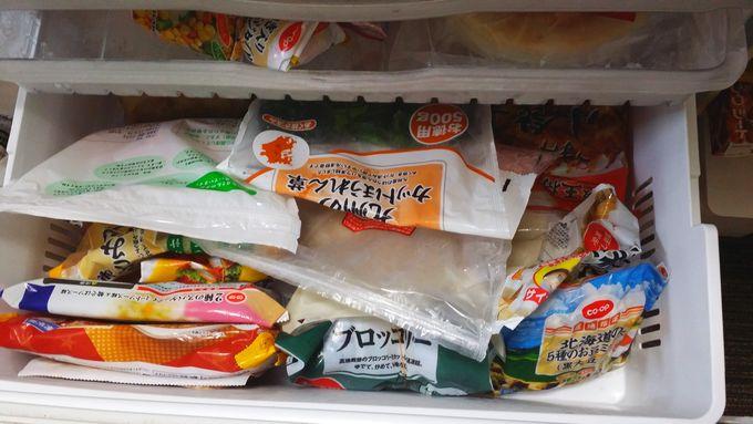 冷凍食品のストック