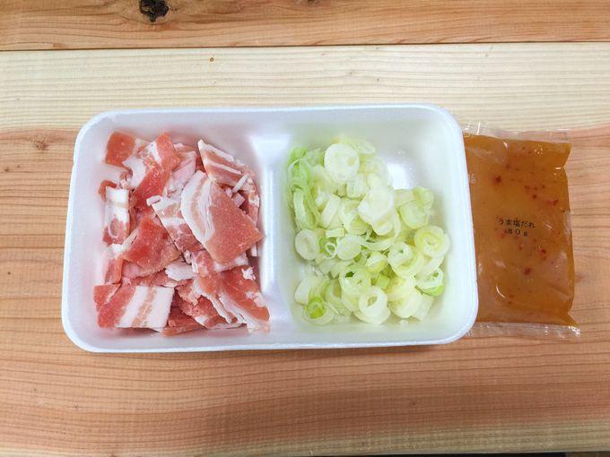 豆腐を加えるセット