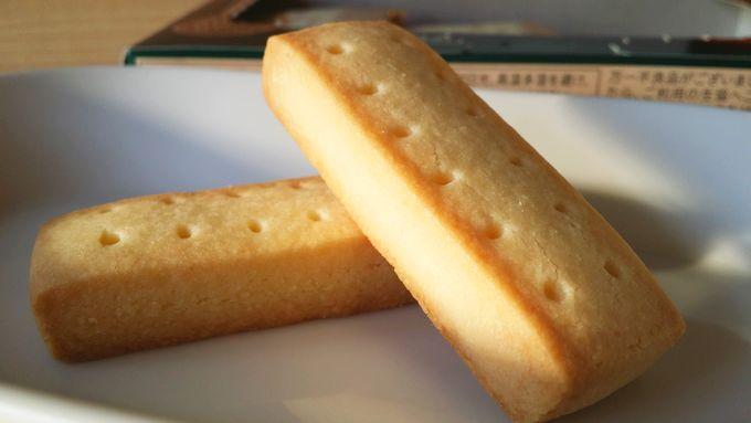 コープの風味豊かな発酵バターのショートブレッド 中身