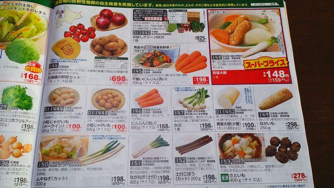 コープデリの野菜2