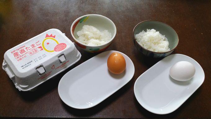 パルシステムの卵かけご飯で比較