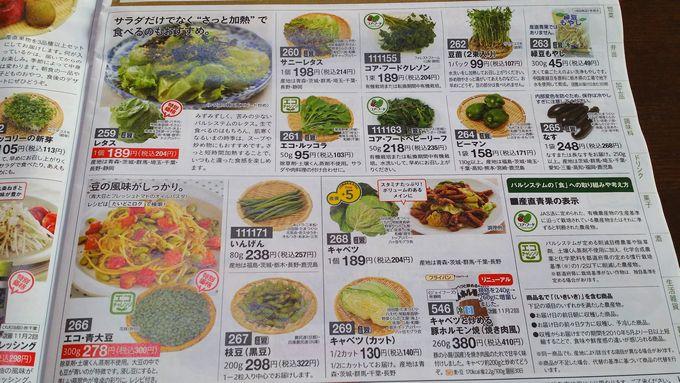 パルシステムの野菜1