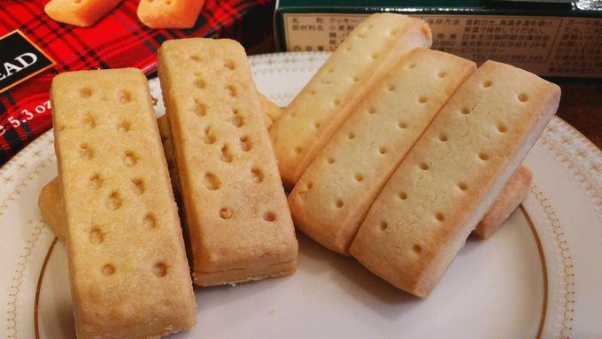 コープの風味豊かな発酵バターのショートブレッドとウォーカー(Walkers) ショートブレッド アップ詳細