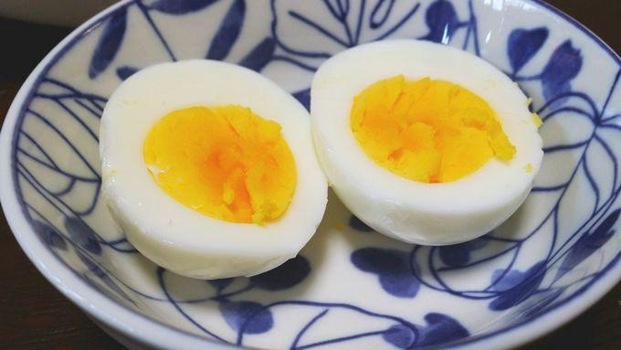 パルシステムのはじめてセット 定番品セットでゆで卵