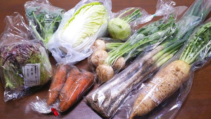 パルシステムのコア・フード野菜セット(8品)