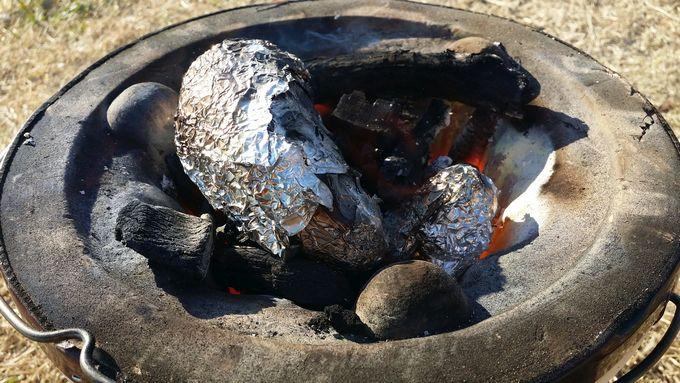 オイシックスのお芋を焼き芋に