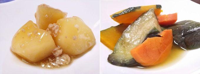 わんまいる「健幸ディナーお試しセット」福井県産 白えびのせかき揚げセットの副菜