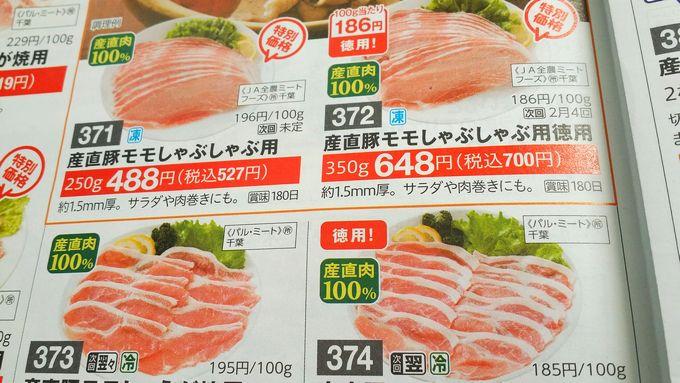パルシステムの産地表記(肉)