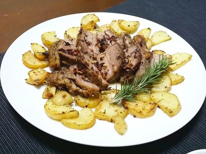 TastyTableの肉料理完成