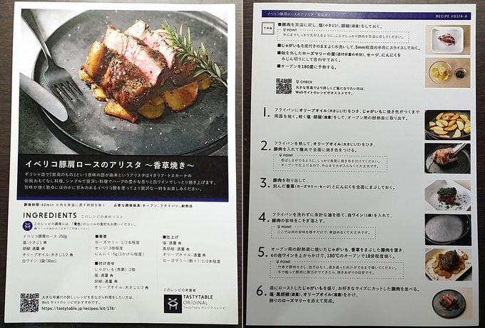 TastyTableのレシピ イベリコ豚肩ロースのアリスタ ~香草焼き~
