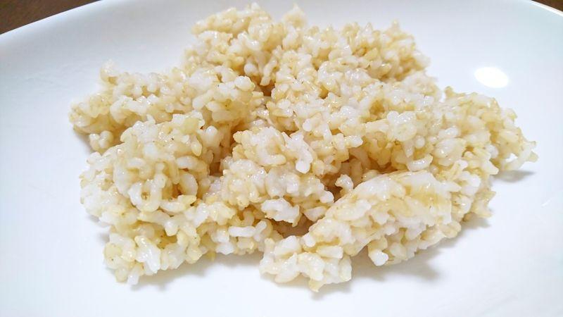 発芽玄米の底力の仕上がり