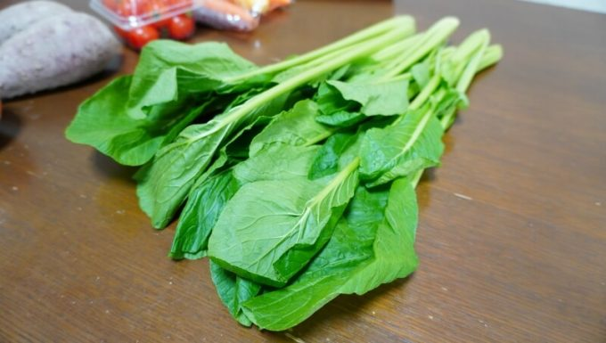 坂ノ途中のお試しセットの野菜 小松菜