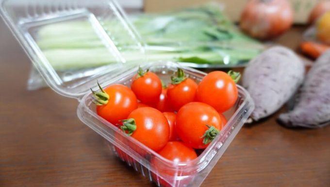 坂ノ途中のお試しセットの野菜 ミニトマト